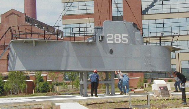 USS BALAO conn returned to WASG.DC